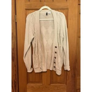 Urban Outfitters BDG Chunky Cardigan w/ Buttons